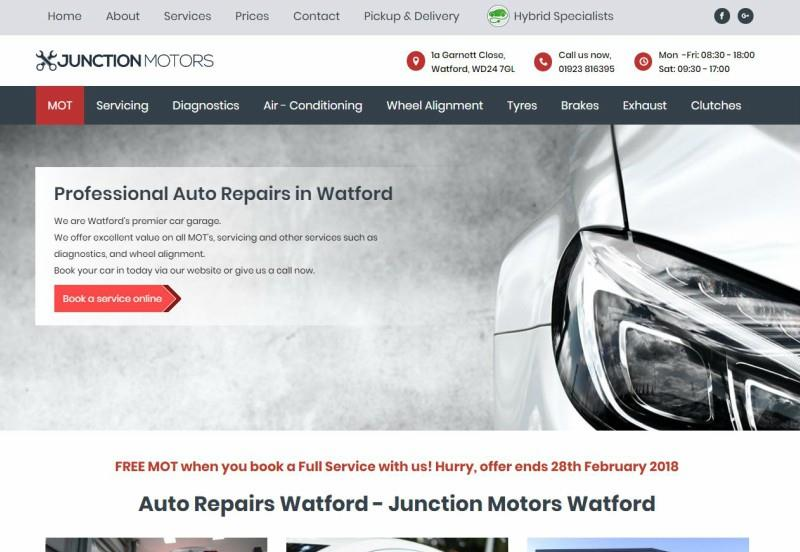 Junction Motors